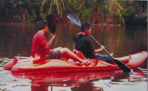 canoe fiberglass