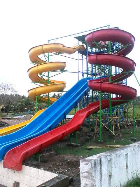 waterboom fibreglass murah