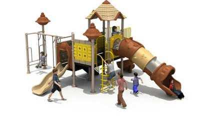 Tematic Playground Fiber Murah Berkualitas
