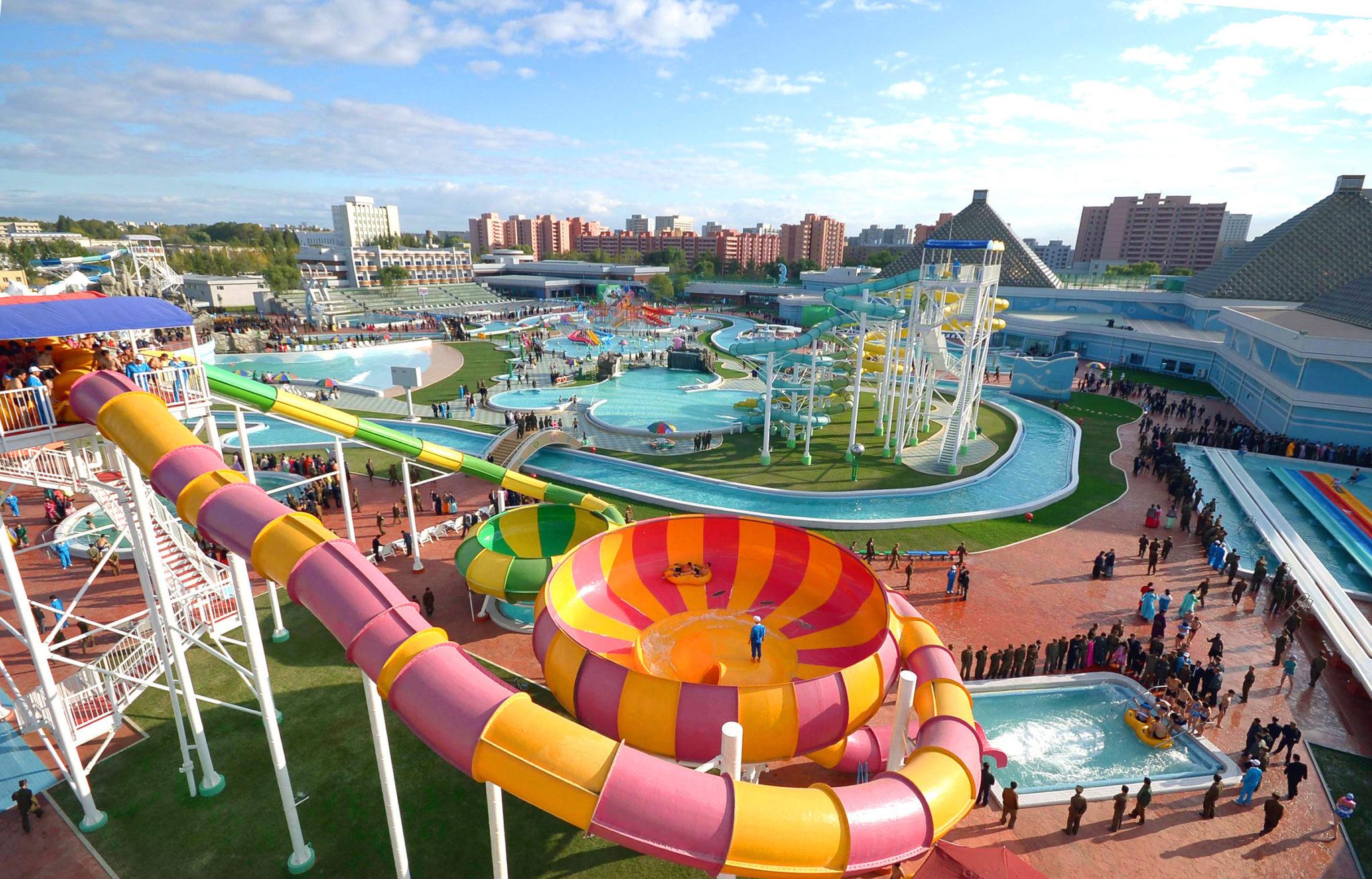 Konsep Desain Waterpark yang Baik