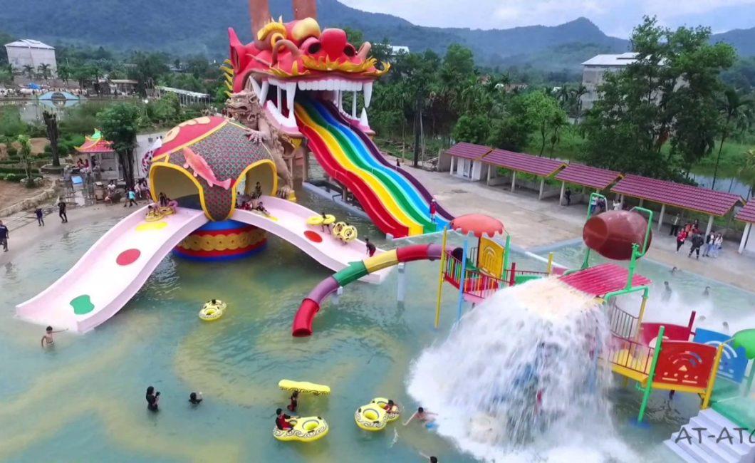 Jasa Ahli Fiberglass Wisata Air Waterboom Waterpark