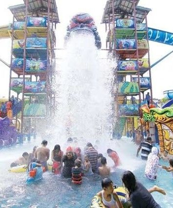 5 Waterboom & Waterpark Terbaik di Indonesia